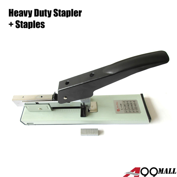 A99 Heavy Duty Stapler w Staples Set Suitable for Large Stack Paper Staples