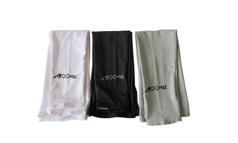 3 pairs A99 Cool Arm Sleeves Black/White/Grey
