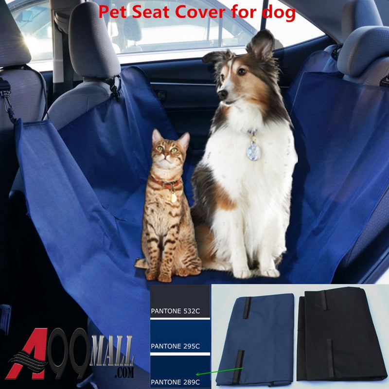 A99 Pet Car Seat Cover Protector Waterproof Scratchproof Nonslip Hammock for Dogs Backseat Protection Against Dirt and Pet Fur Durable Pets Seat Covers for Cars & SUVs