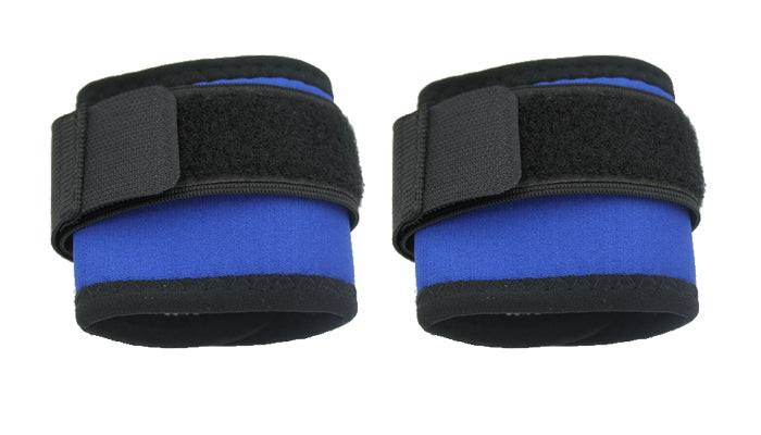 Tourmaline Self-heating Therapy Wrist Support Pad 1 Pair Black or Blue