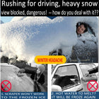 A99 Car No Frost Windshield Cover Hook Up Snow Ice Sun Dust Frost Shield Protector