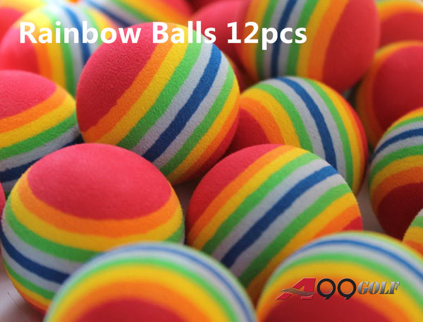A99 Golf Rainbow  Foam Balls 12pcs