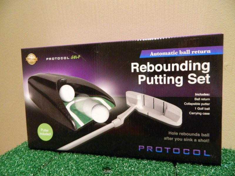 AP01 Automatic Rebounding Putting Set putter