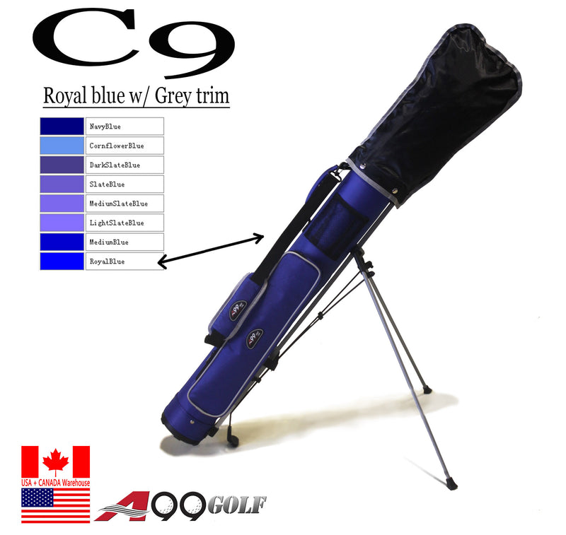 C9 Range Sunday Pencil Carry Bag Removable Top Cover w. stand
