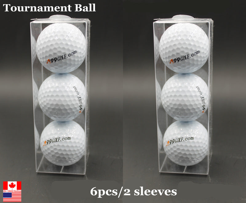 A99 golf tournament balls 6 pcs