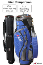 A99Golf C10 Practice Range Sunday Pencil Carry Bag Removable Top Cover no Stand