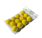 A99 Golf Elastic Practice Pu Balls Yellow 12 Pcs