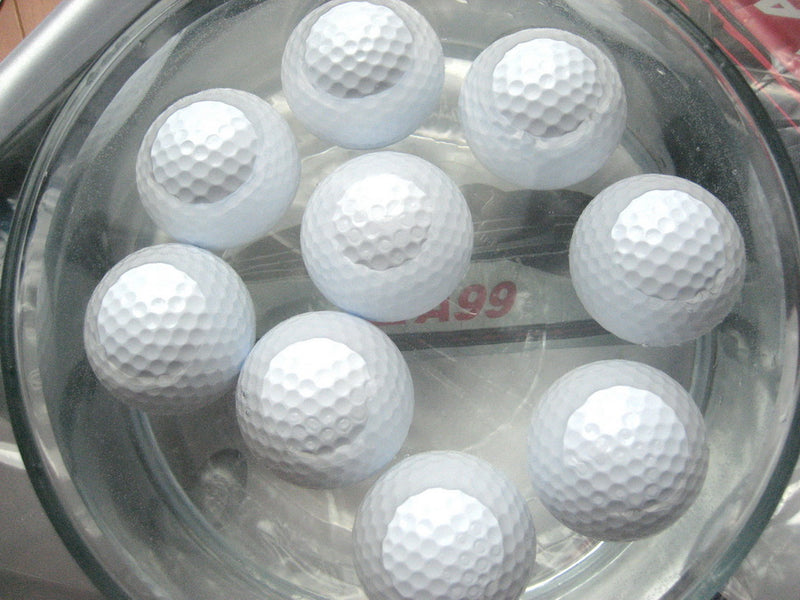 50pcs A99 Golf Floater Balls White with a Mesh Bag