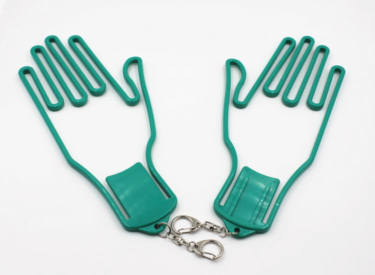 Glove Dryer Left and Right Hand Stretcher Green 2pcs