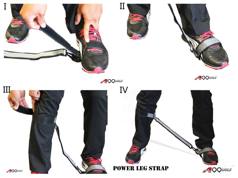 A99 Golf Power Leg Strap Training Aids Correction