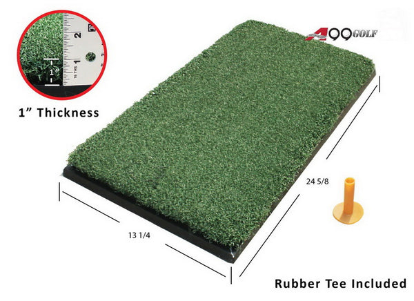Ultra Thick Turf Practice Mat 13.25in x 24.625in