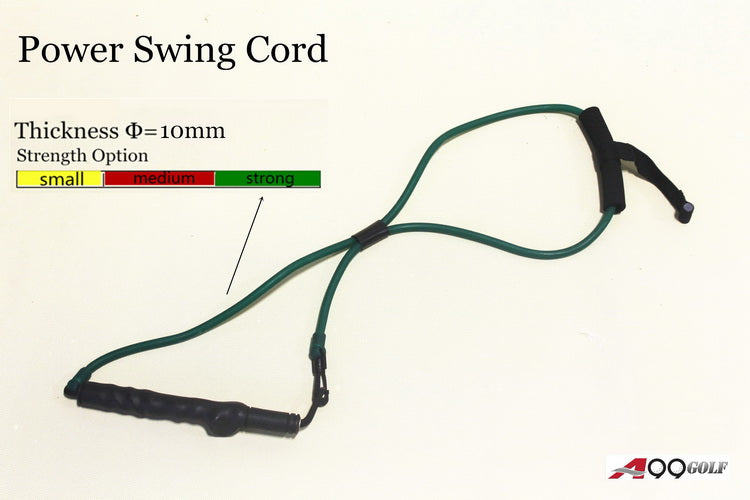 A99Golf Power Swing Cord Resistance Bands Exercise Fitness Yoga or Pilates Workout Gym Sports Golf Training Aids Right Hand