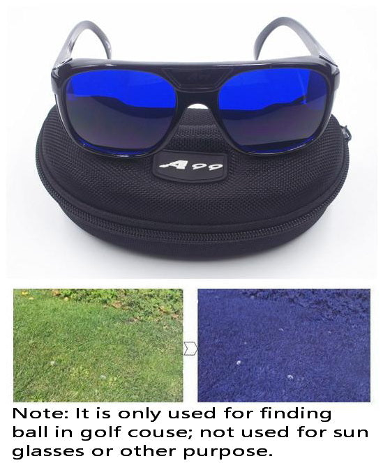 A99 Golf E-1 Ball Finder Glasses Black Frame