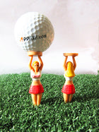A99 Golf Valuable Pouch Tee Set with 10pcs Caddy Girl Tee