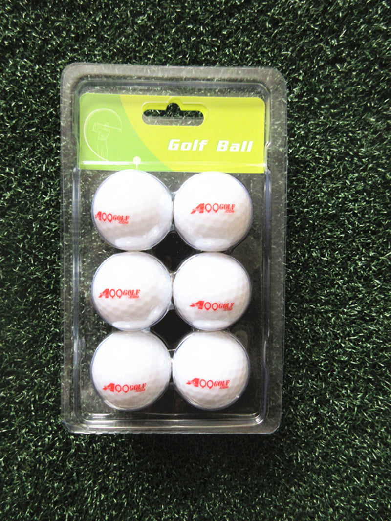 6 pcs A99 Golf Twilight  Light-up Multi-color Flashing Golf Balls