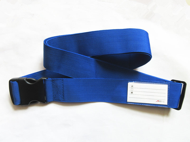 A99 Single Strap Blue Luggage Strap Suitcase Packing Belt Travel Accessories 2pcs/pack