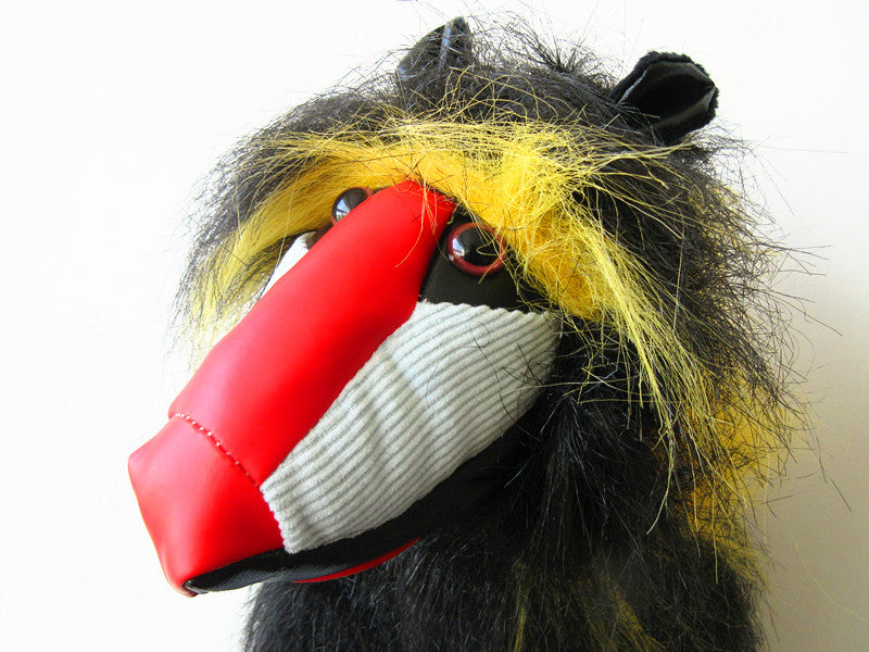 A99 Golf Animal Mandrill Monkey Head Cover
