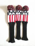 A99 Golf Driver 1 3 5 Fairway Woods Headcovers Pom Pom Knit