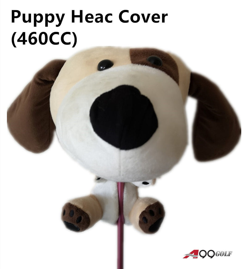 A99 Golf Cute Animal Puppy Head Cover Wood Headcover Great Gift - Fits Driver, Fairway Wood, Hybrid