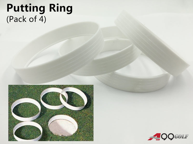 A99 Golf Putting Green Cup Ring Golf Field Accessory 4pcs