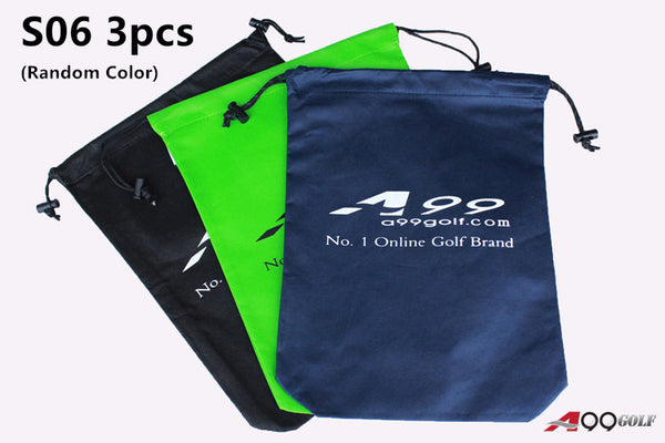 A99 S06 Shoes Bag Non-Woven Fabric Tote Bag/Pouch 3pcs/1set - Random Color