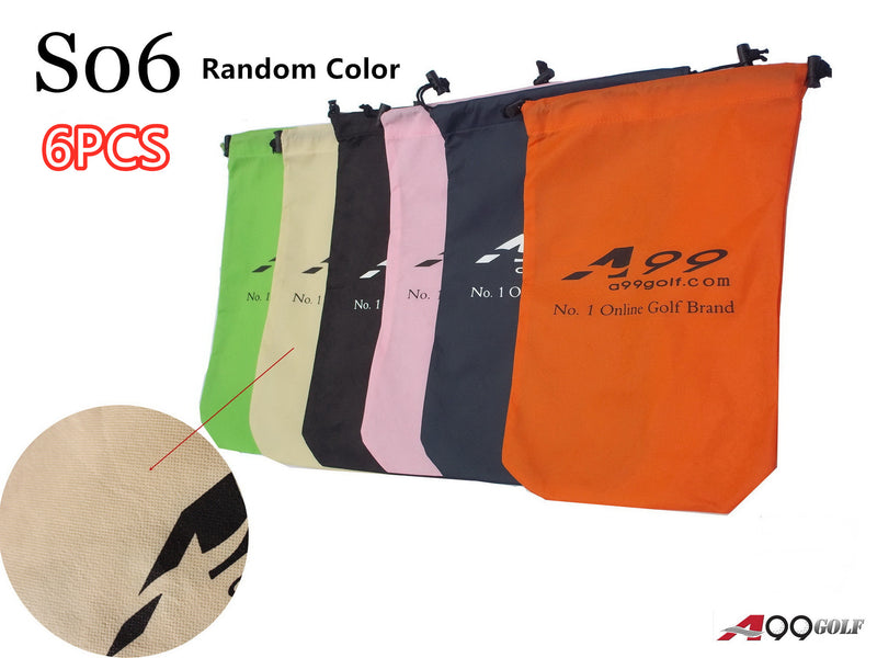 A99 S06 Shoes Bag Non-Woven Fabric Tote Bag/Pouch 6pcs/1set - Random Color