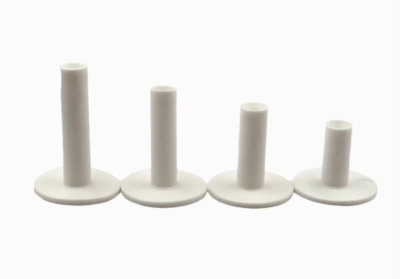A99 Golf WRT-04 Rubber Golf Tee White 4pcs with Different Size Indoor Outdoor Simulator Home Use Practice Training Aid