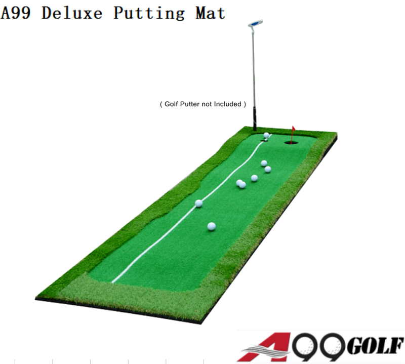 A99 Golf Deluxe True Feel Putting Mat (20in x 10ft)