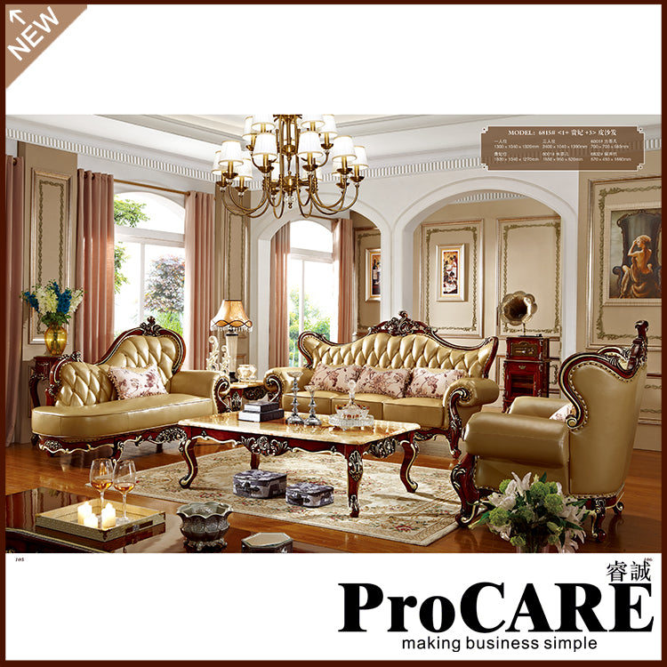 ... Hand Carved Luxury Living Room Sofa Set   Ju0026P Elegant Home Decor And  Accessories ...