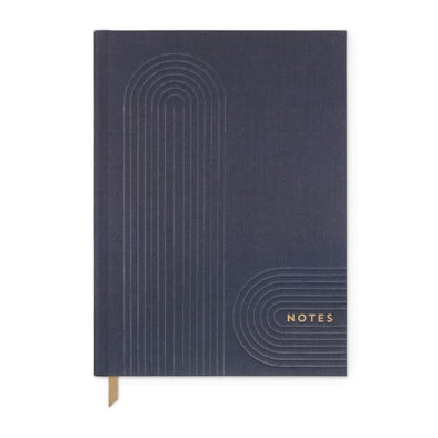 Large Navy Bookbound Journal