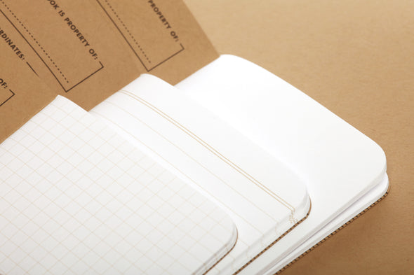 Field Notes Original Pocket Notebook in Kraft