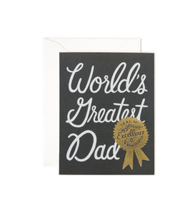 World's Greatest Dad by Rifle Paper Co.