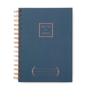 Poetry & Prose Wire Notebook