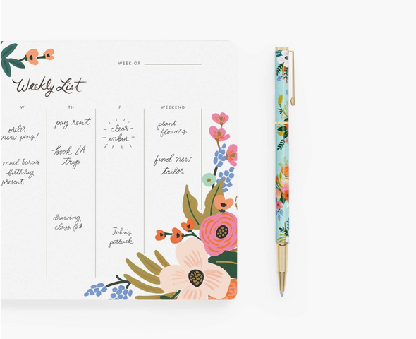 Lively Floral Parker Style Pen by Rifle Paper Co.