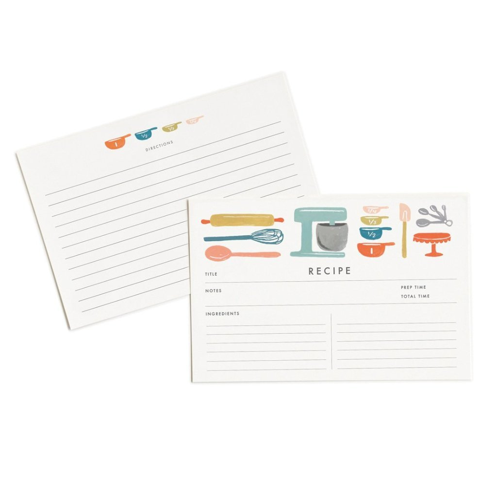 Recipe Cards by Rifle Paper Co.