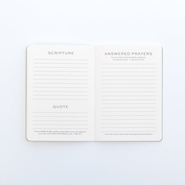 Compose 6-Month Prayer Journal