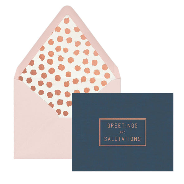 Greetings and Salutations Notecards (Box of 12)