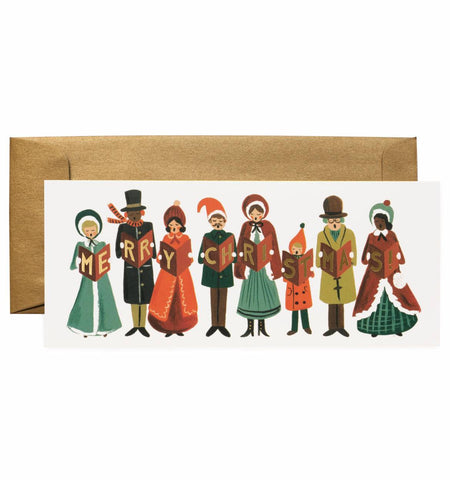 Carolers Christmas Card by Rifle Paper Co