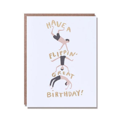 Flippin' Great Birthday Card by Egg Press