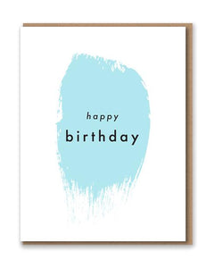 Happy Birthday Letterpress Card by 1973