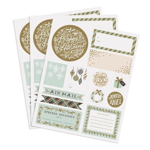 Winter Wonderland Holiday Stickers by Rifle Paper Co.
