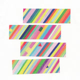 AIUEO Masking Tape Colorful