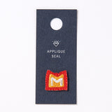 AIUEO Applique Initial M
