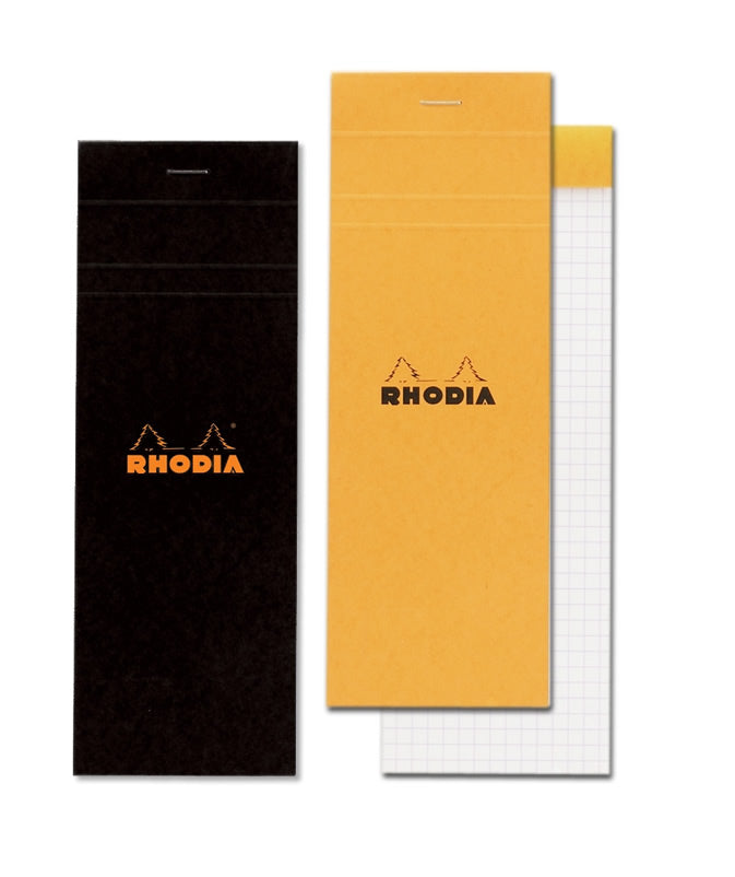 RHODIA Basics No.8 hsp 74x210mm black