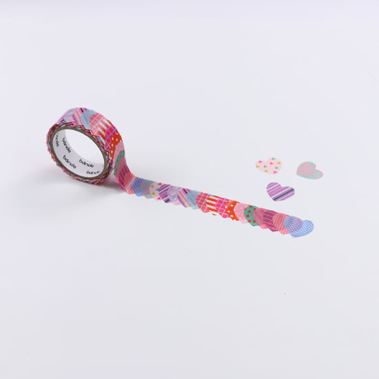 BDA268 ハート Deux  WASHI STICKERS