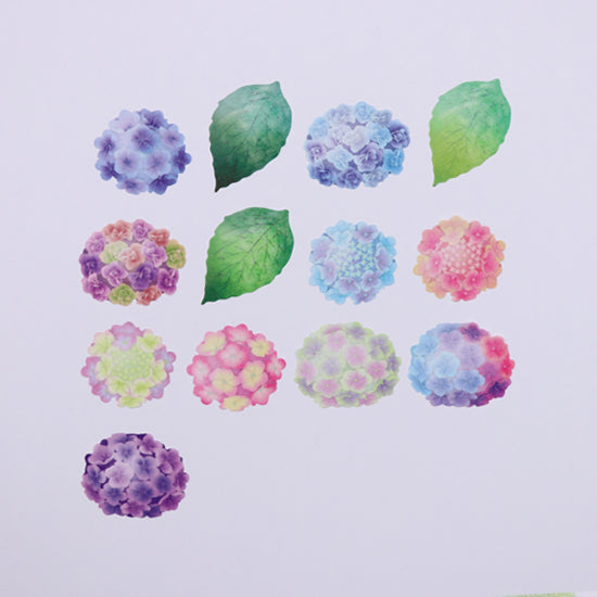 BDA276 紫陽花 WASHI STICKERS