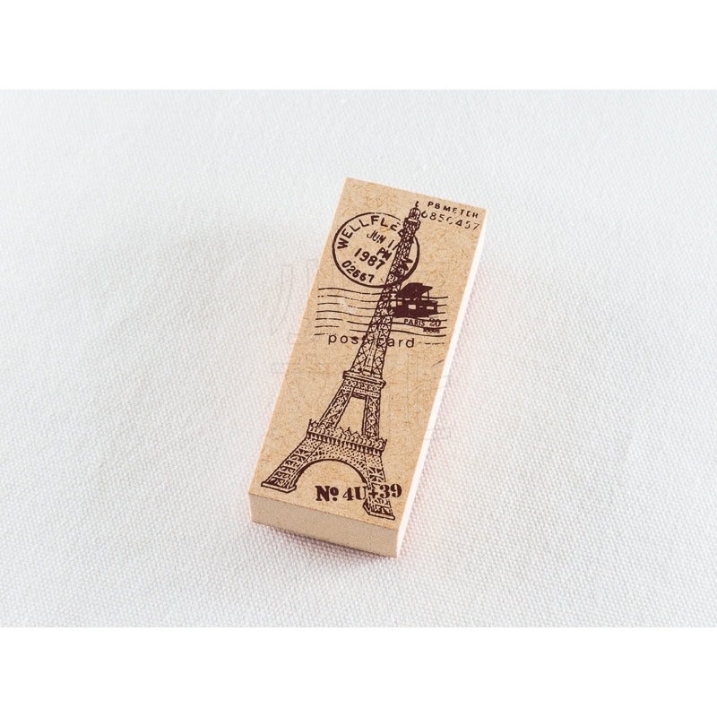 Paris Tower Wooden Stamp