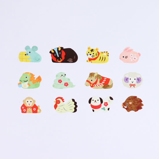 BDA332 Zodiac Sign WASHI STICKERS