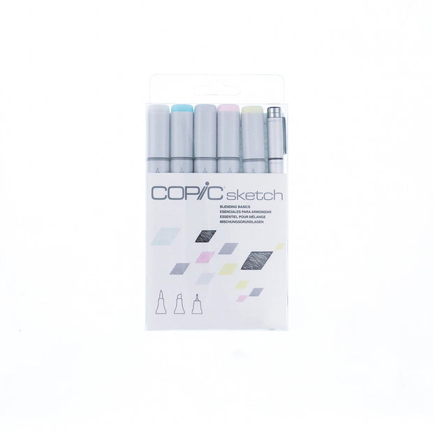 30th Anniversary COPIC Sketch Marker 5 colors + 1 Multiliner