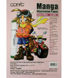 COPIC MANGA ILLUSTRATION PAPER 30S A4 NATURAL WHITE